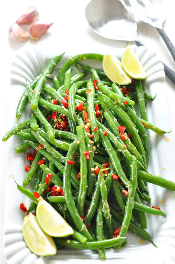 garlic-green-beans