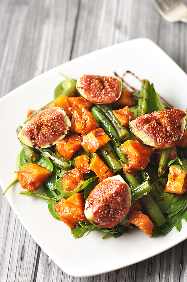 Butternut Squash & Fig Salad