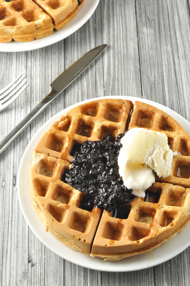 lemon-blueberry-waffles